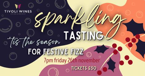 Festive Sparkling Tasting