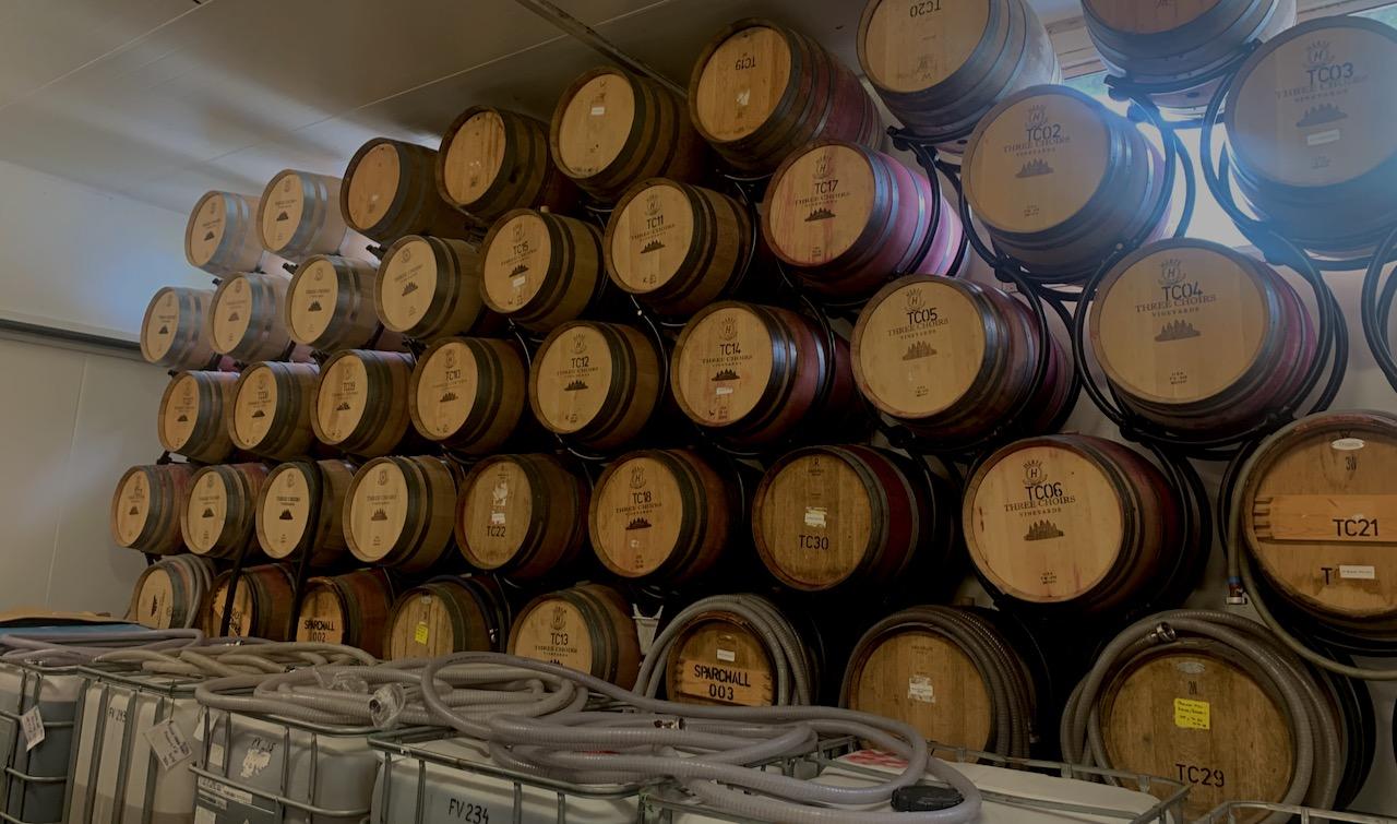 three choirs barrels